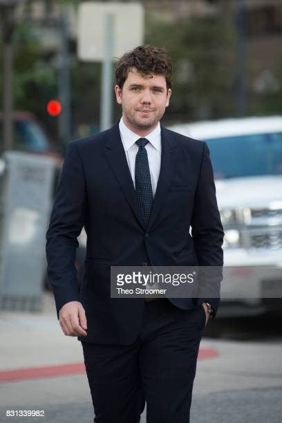 Austin Swift Taylor Swift's brother walks to the courthouse during the civil case for Taylor Swift vs David Mueller at the Alfred A Arraj Courthouse...