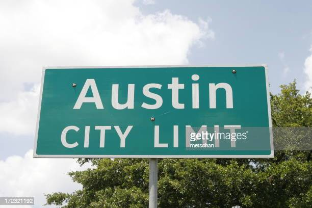 Austin Texas City Limit Sign