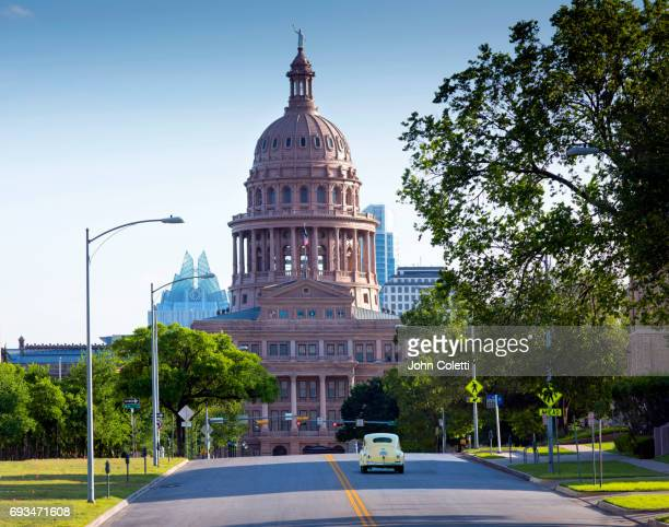 austin, texas - capital cities stock photos and pictures
