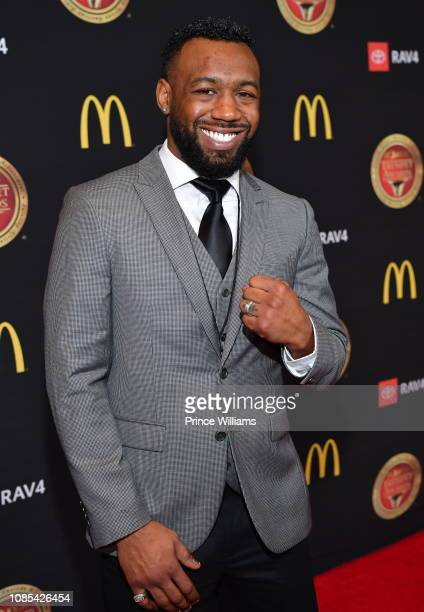 Austin Trout attends 2019 Trumpet Awards at Cobb Energy Performing Arts Center on January 19, 2019 in Atlanta, Georgia.