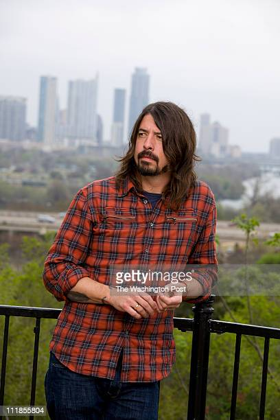 Austin TXMarch 16 2011 Dave Grohl former drummer for Nirvana and now with Foo Fighters made his presence known SXSW Music Festival in Austin where he...