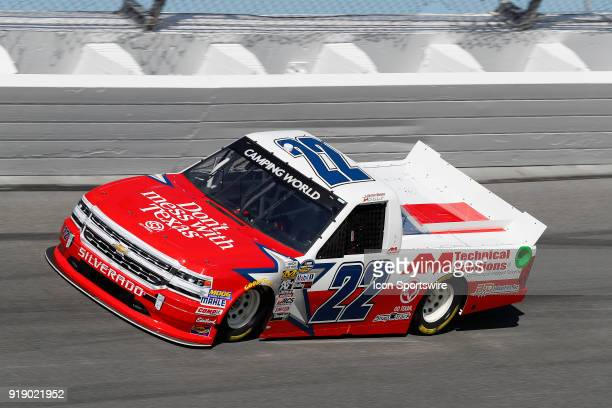 Austin Wayne Self Niece Motorsports Dont Mess With Texas/AM Technical Solutions Chevrolet Silverado during practice for the NextEra Energy Resources...