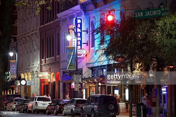 La 6th Street d'Austin