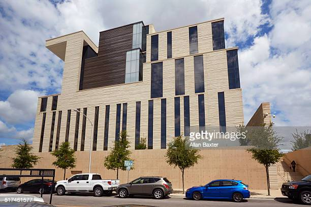 austins' new 'us courthouse' - austin texas stock pictures, royalty-free photos & images