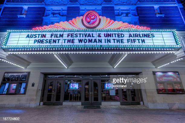 austin's paramount theater - paramount theater austin stock photos and pictures