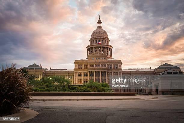 USA, Austin,Texas State Capitol, Congress Avenue