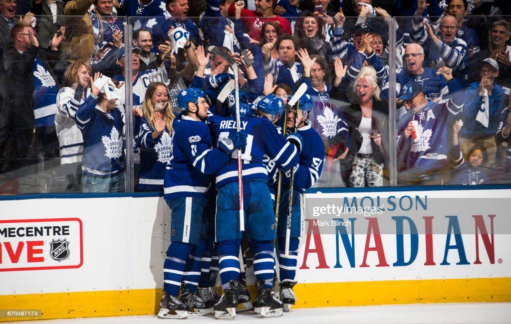 Washington Capitals v Toronto Maple Leafs - Game  Three