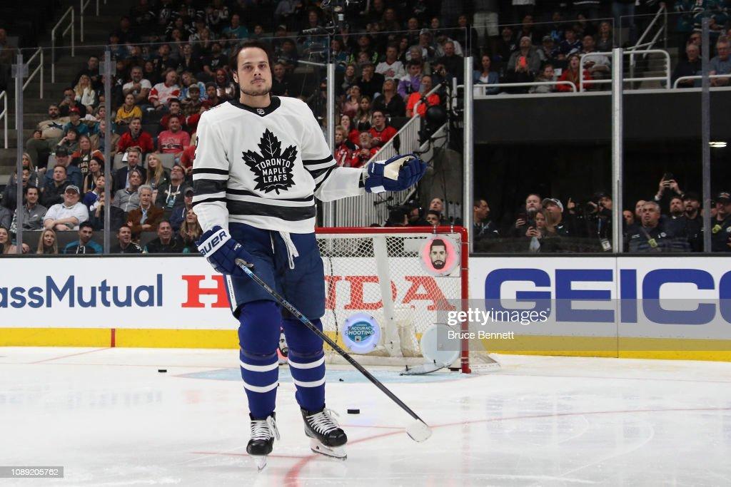 2019 SAP NHL All-Star Skills - Accuracy Shooting : News Photo