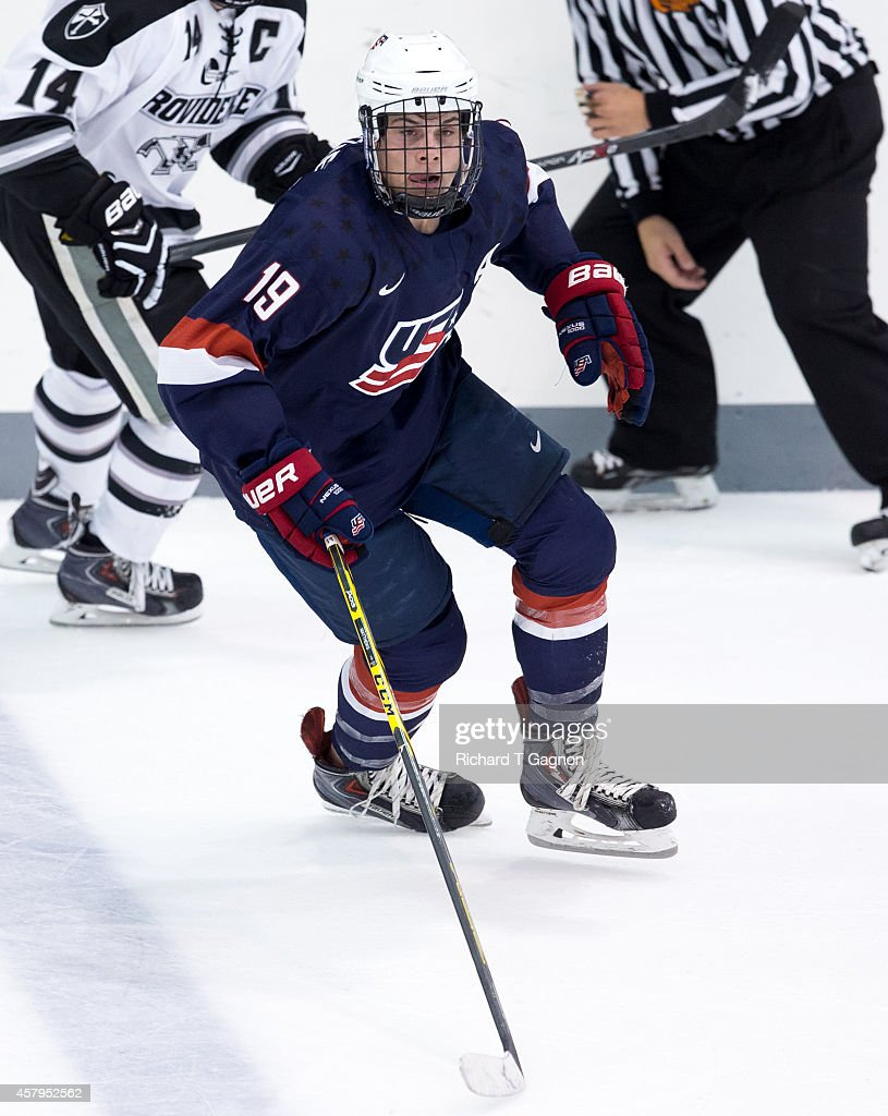 United States U-18 v Providence : News Photo