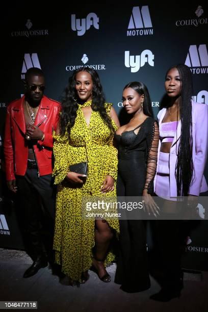 Auston Reynolds Ethiopia Habtemariam Jessika Quynn Reynolds and Rey Reynolds attend the BET Hip Hop Awards 2018 Weekend Kick Off Party at Soho House...