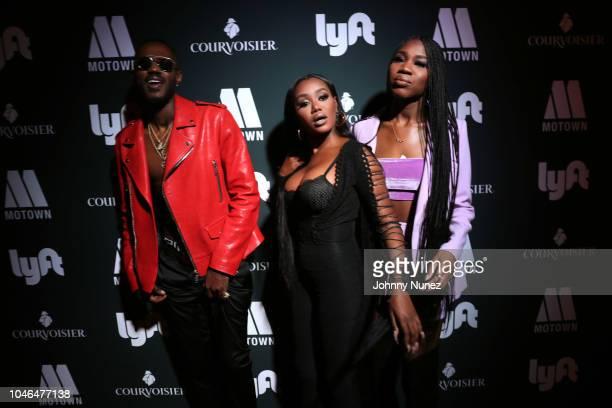 Auston Reynolds Jessika Quynn Reynolds Rey Reynolds aka music group JAMESDAVIS attend the BET Hip Hop Awards 2018 Weekend Kick Off Party at Soho...