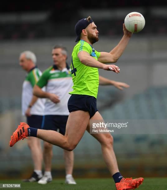 PERTH Australia 17 November 2017 Caprtain Aidan O'Shea during Ireland International Rules Squad Captain's Run at Domain Stadium Subiaco Oval in Perth...