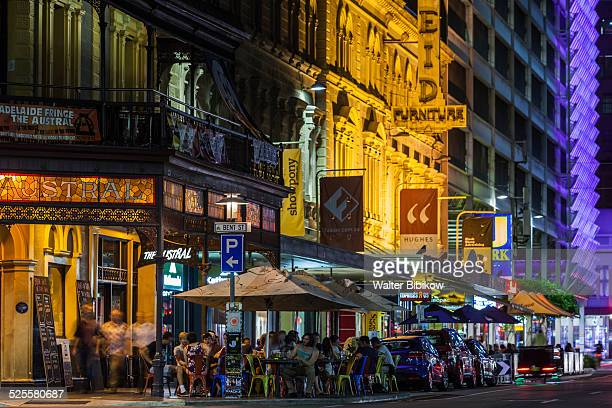 australia, adelaide, exterior - adelaide stock pictures, royalty-free photos & images