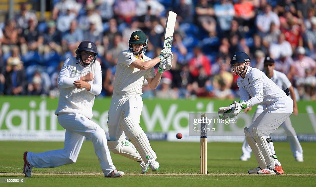 England v Australia: 1st Investec Ashes Test - Day Two