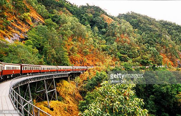 AUS Australia Cairns Kuranda Scenic Train