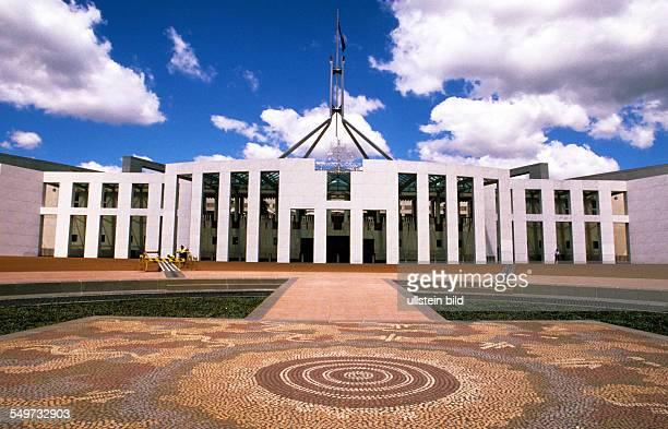 AUS Australia Canberra captial of Australia New Parliament House