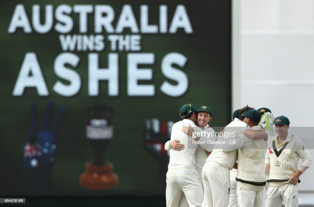 Australia Regain The Ashes - Best Of Ashes 2017/18