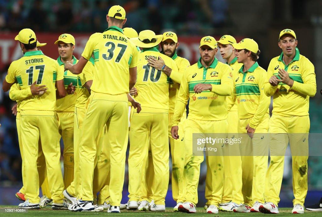 Australia v India - ODI: Game 1 : ニュース写真