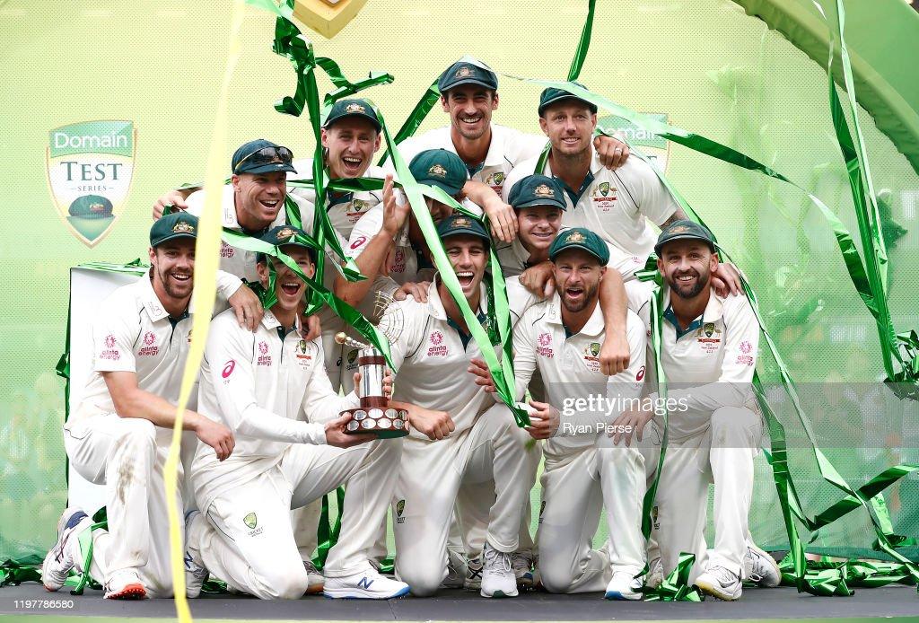 Australia v New Zealand - 3rd Test: Day 4 : News Photo
