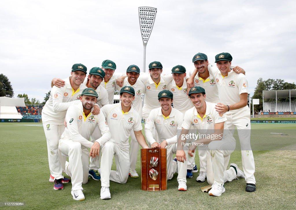 Australia v Sri Lanka - 2nd Test: Day 4 : News Photo