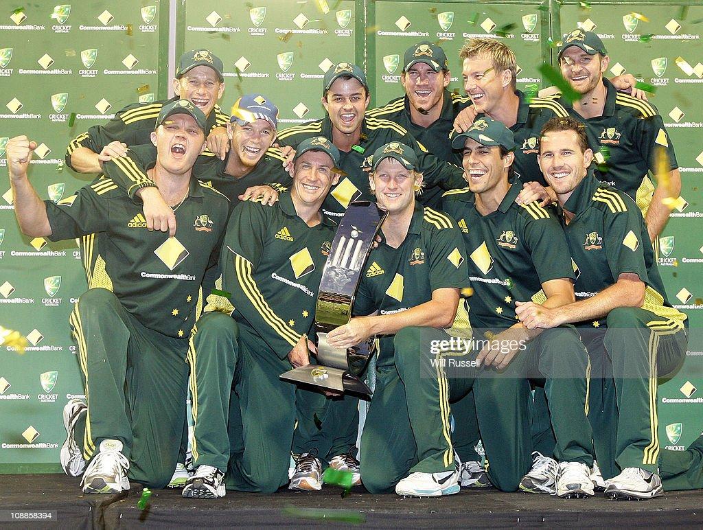 Commonwealth Bank Series - Game 7: Australia v England