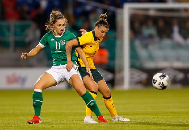 IRL: Republic of Ireland v Australia Commonwealth Bank Matildas - International Friendly
