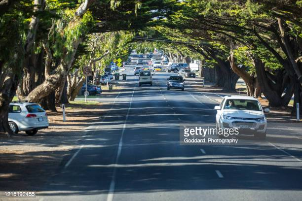 australia: cowes on phillip island - phillip island stock pictures, royalty-free photos & images