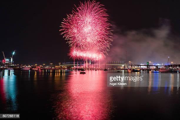 Australia Day Firework display, Melbouren
