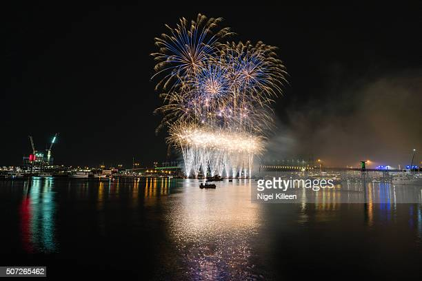 Australia Day Fireworks, Melbourne