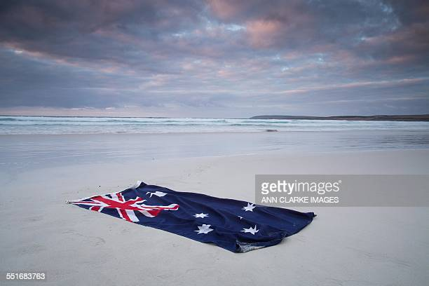 australia day flag - australian flag stock pictures, royalty-free photos & images