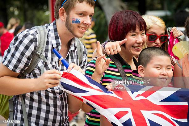 australia day - australia day stock pictures, royalty-free photos & images