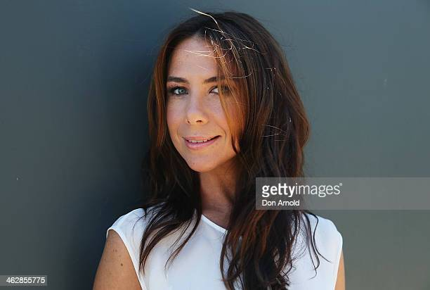 Australia Day Spokesperson Kate Ritchie poses at the launch of the 2014 Australia Day Program on January 16 2014 in Sydney Australia