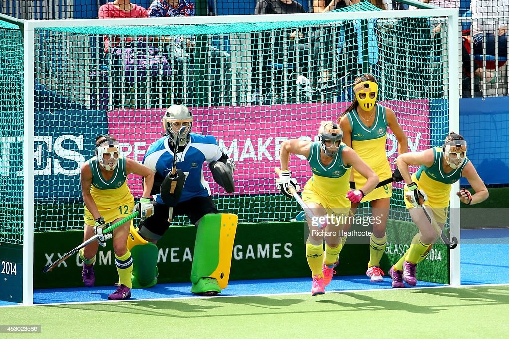 20th Commonwealth Games - Day 9: Hockey : News Photo