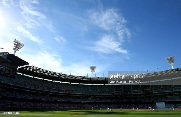 Australia face India during day one of the boxing day Test between Australia and India at MCG