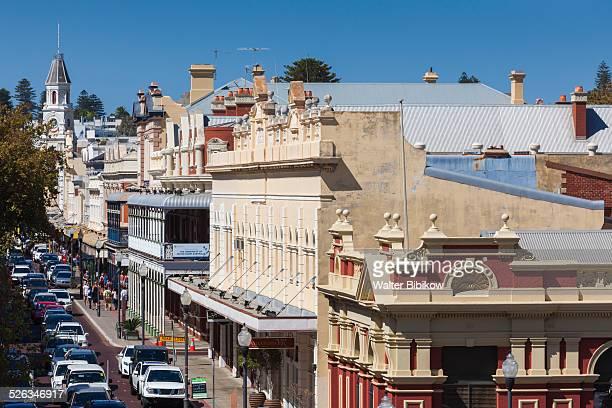 australia, freemantle, high street, exterior - フリーマントル ストックフォトと画像