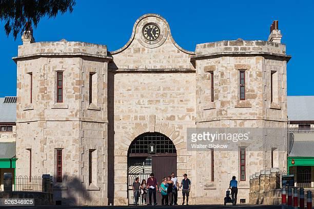 australia, freemantle, prison, exterior - フリーマントル ストックフォトと画像