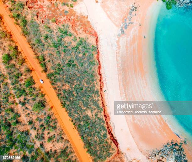 australia from above - western australia stock photos and pictures