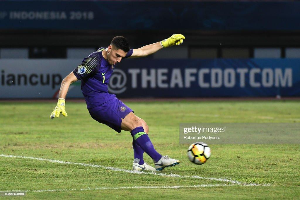 Saudi Arabia v Australia - AFC U-19 Championship Indonesia Quarter Final : News Photo