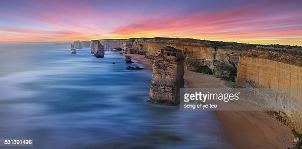 Australia Iconic 12 apostles Scenery