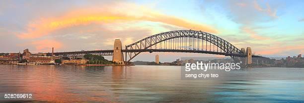 Australia Iconic Harbour Bridge Scenery