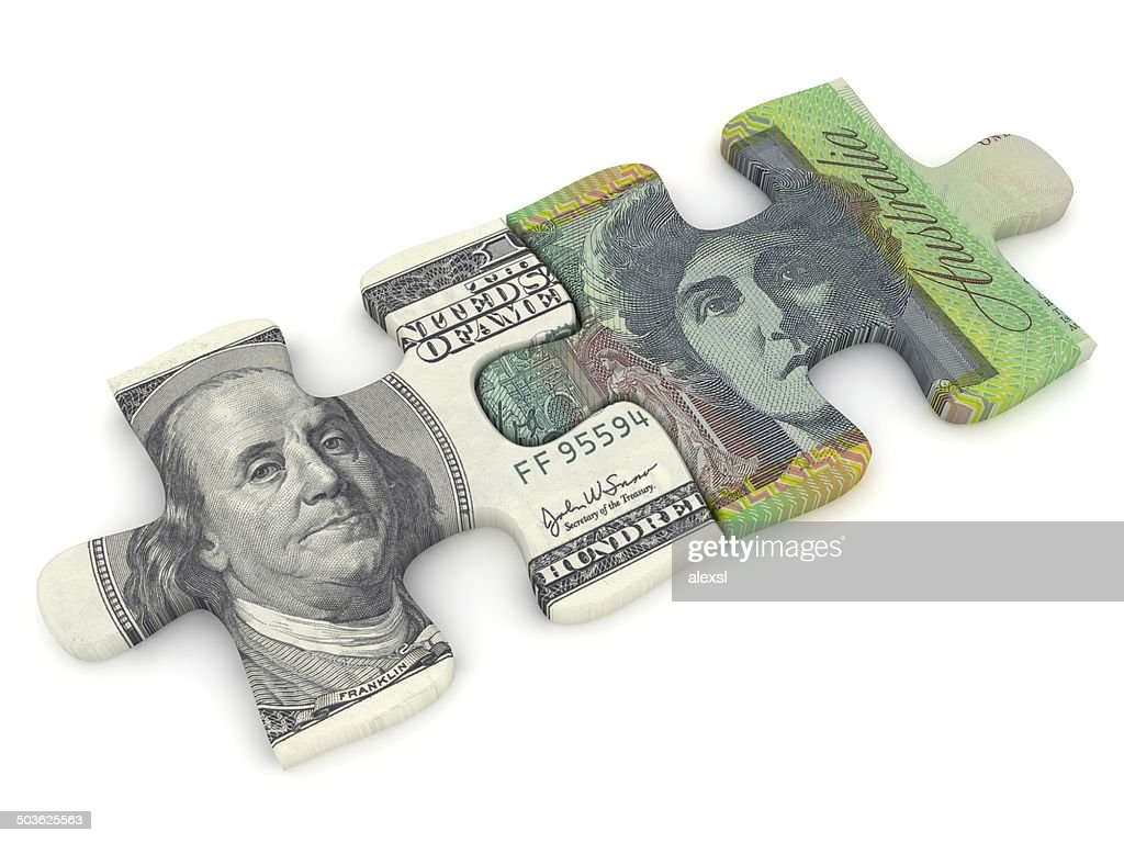 Money Puzzle High Res Stock Photo