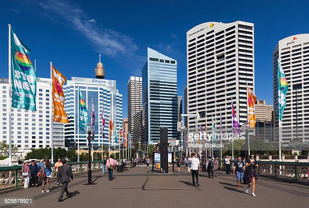 australia, new south wales, exterior - darling harbour stock pictures, royalty-free photos & images