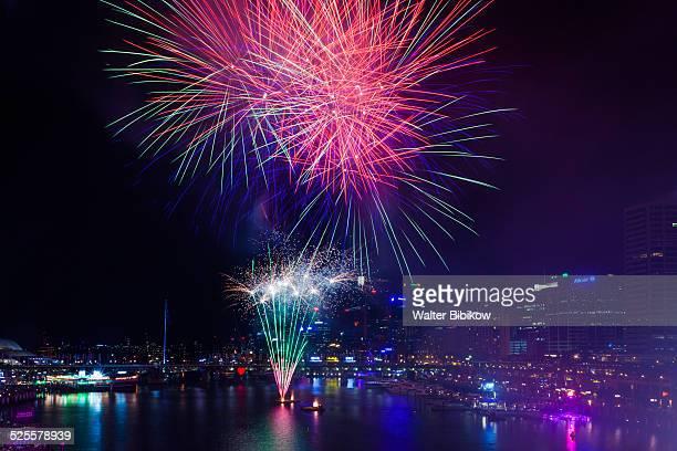 australia, new south wales, exterior - ダーリング港 ストックフォトと画像