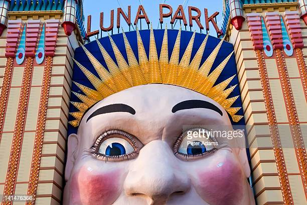 Australia New South Wales Sydney Harbour Luna Park