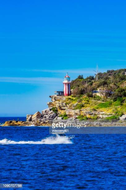 australia, new south wales, sydney, lighthouse - international landmark stock pictures, royalty-free photos & images