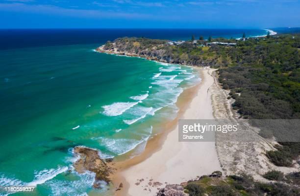 australia. north stradbroke island, qld - island stock pictures, royalty-free photos & images