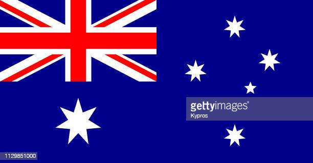 australia - flag stock pictures, royalty-free photos & images
