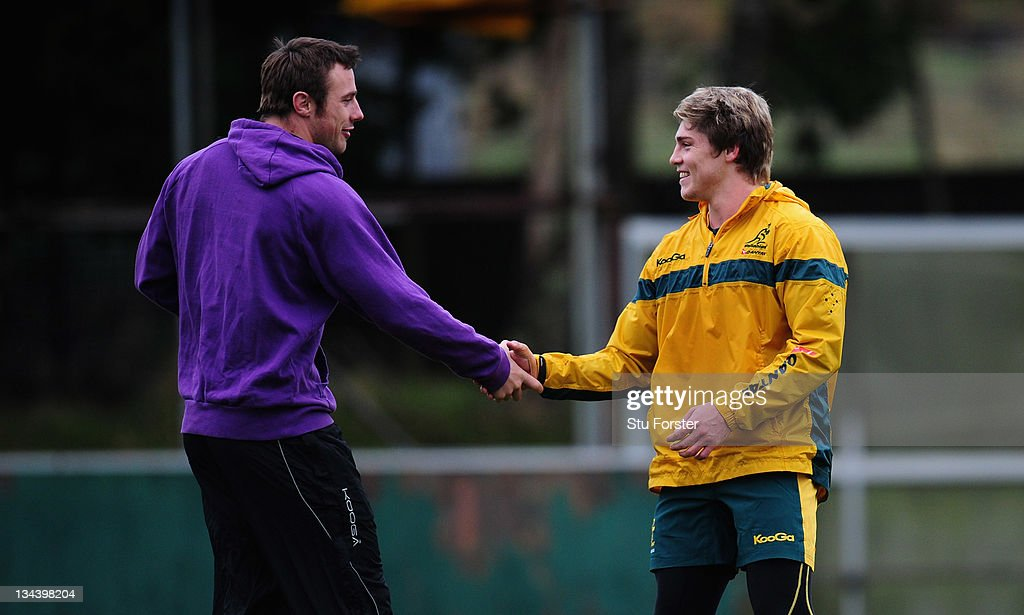 Australia Rugby Training Session