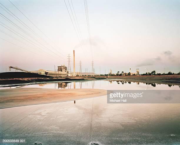 Australia, Port Augusta, coal fired power station on coast