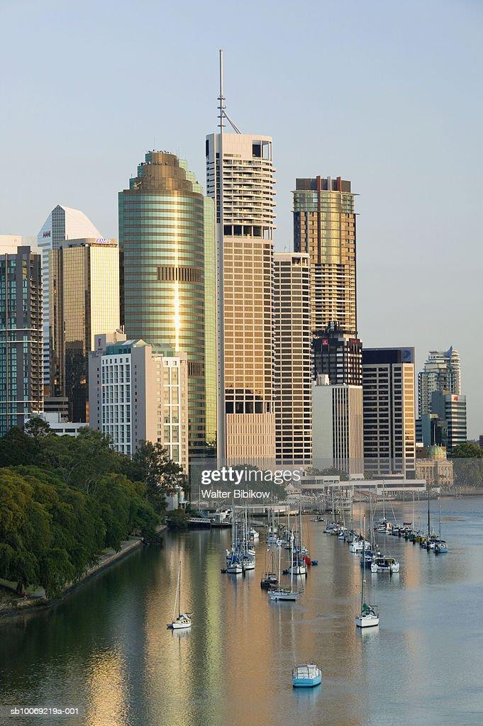 Australia, Queensland, Brisbane, Kangaroo Point : Stockfoto